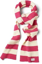 Gant Girls Bar Striped Scarf 9-15 Yrs