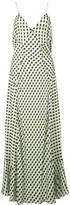 Proenza Schouler White Label Multicolor Gingham Georgette Slip Dress