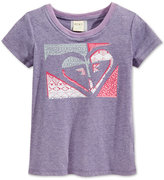 Roxy Quilted Graphic-Print T-Shirt, Girls (7-16)
