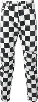 G Star G-Star - checked trousers - men - Cotton - 33
