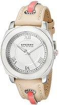 Sperry Women's 10009015 Summerlin Analog Display Japanese Quartz White Watch