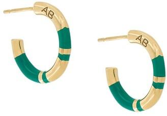 Aurelie Bidermann small hoop Positano earrings