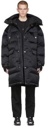 Nike Black MMW Edition Down Fill Hooded Jacket