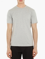 Comme Des Garcons Shirt Grey Cotton T-shirt