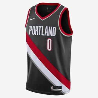 Nike NBA Swingman Jersey Damian Lillard Trail Blazers Icon Edition 2020