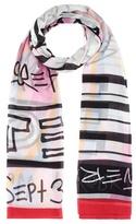 Kenzo Printed cotton scarf