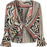 River Island Girls red print cover-up