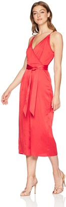 The Fifth Label Women's V Neck Cropped Wide Leg Sleeveless Jumpsuit