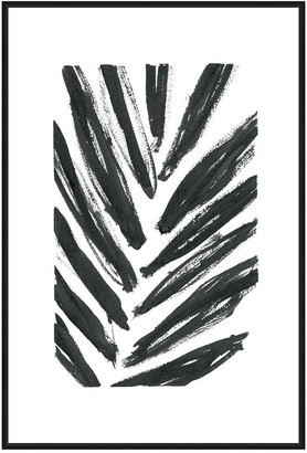 Jonathan Bass Studio Palms, Decorative Framed Hand Embellished Canvas