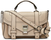 Proenza Schouler Beige Tiny PS1+ Satchel