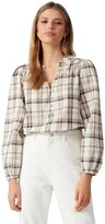 Thumbnail for your product : Forever New Kinsley Check Blouse Brown Check