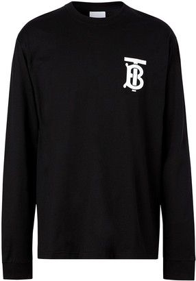 Burberry monogram-motif long-sleeve T-shirt