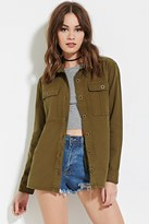 Forever 21 Buttoned Cargo Jacket