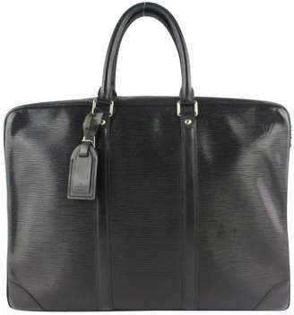 Louis Vuitton Black Leather Handbags