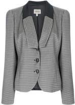 Armani Collezioni geometric jacquard jacket