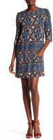 Corey Lynn Calter Cleo Print Shift Dress
