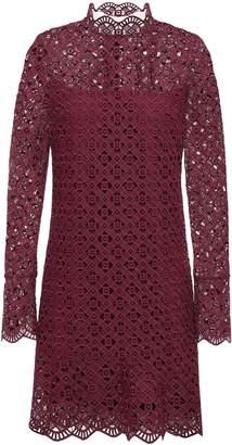 Sandro Scalloped Guipure Lace Mini Dress