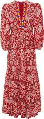 Bohemia Alix Of Alix of Paradise Printed Cotton-Voile Dress
