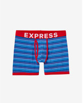 Express horizontal stripe boxer briefs