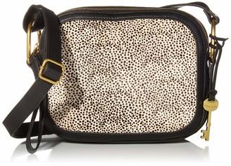 Fossil Women's Elle Leather Crossbody Handbag