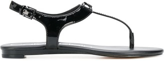 Calvin Klein Logo Plaque Sandals
