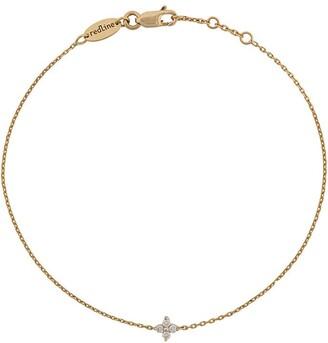 Redline Shiny four diamonds chain bracelet
