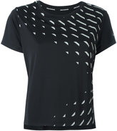 Nike geometric print dri-fit running top - women - Polyester - M