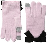 Kate Spade Gloves with Grosgrain Bow Extreme Cold Weather Gloves