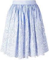 Miu Miu striped skirt