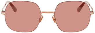 Mykita Rose Gold Momo Sunglasses