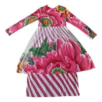 Manish Arora Pink Glitter Dress for Women