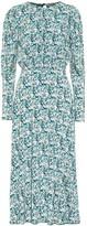 Rotate by Birger Christensen Floral stretch-jersey midi dress