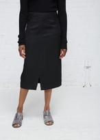 Zero Maria Cornejo black margot skirt