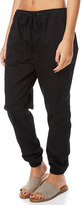 Swell Essential Womens Chino Jogger Black