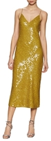 Diane von Furstenberg Havita Silk Sequin Midi Dress