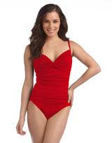 LaBlanca LA BLANCA Shirred One-Piece Swimsuit