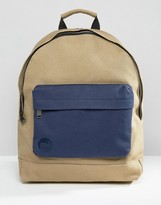 Mi-pac Canvas Tonal Backpack Sand