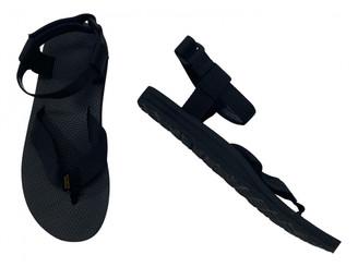 Teva Black Polyester Sandals