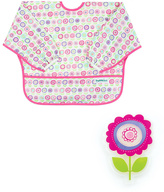 Bumkins Bloom Cold Pack & Sleeved Bib