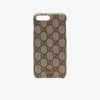 Gucci brown Ophidia iPhone 8 Plus case