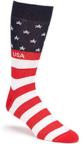 Daniel Cremieux American Flag Crew Dress Socks