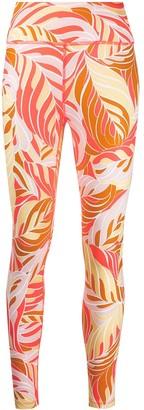 Nike Leaf Print Leggings