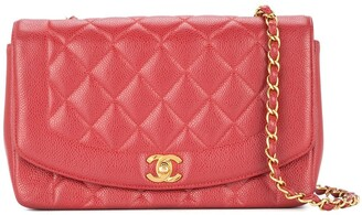 Chanel Pre Owned 1991-1994 Diana quilted shoulder bag