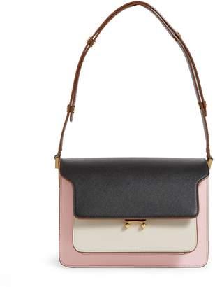 Marni Small Leather Trunk Bag