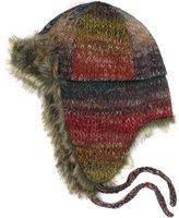San Diego Hat Company San Diego Hat Women's Fashionable Fur Trim Trapper