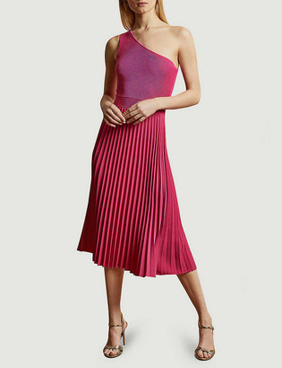 Ted Baker Miriom off-shoulder stretch-knit midi dress