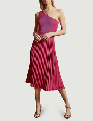 Ted Baker Miriom off-shoulder stretch-knit midi dress