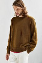 Urban Outfitters Distressed Modern Crew Neck Sweater