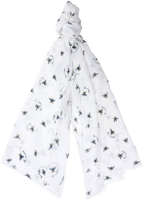 Barbour Bee Happy Print Wrap