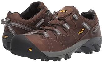 Keen Detroit Low Steel Toe (Cascade Brown) Men's Shoes